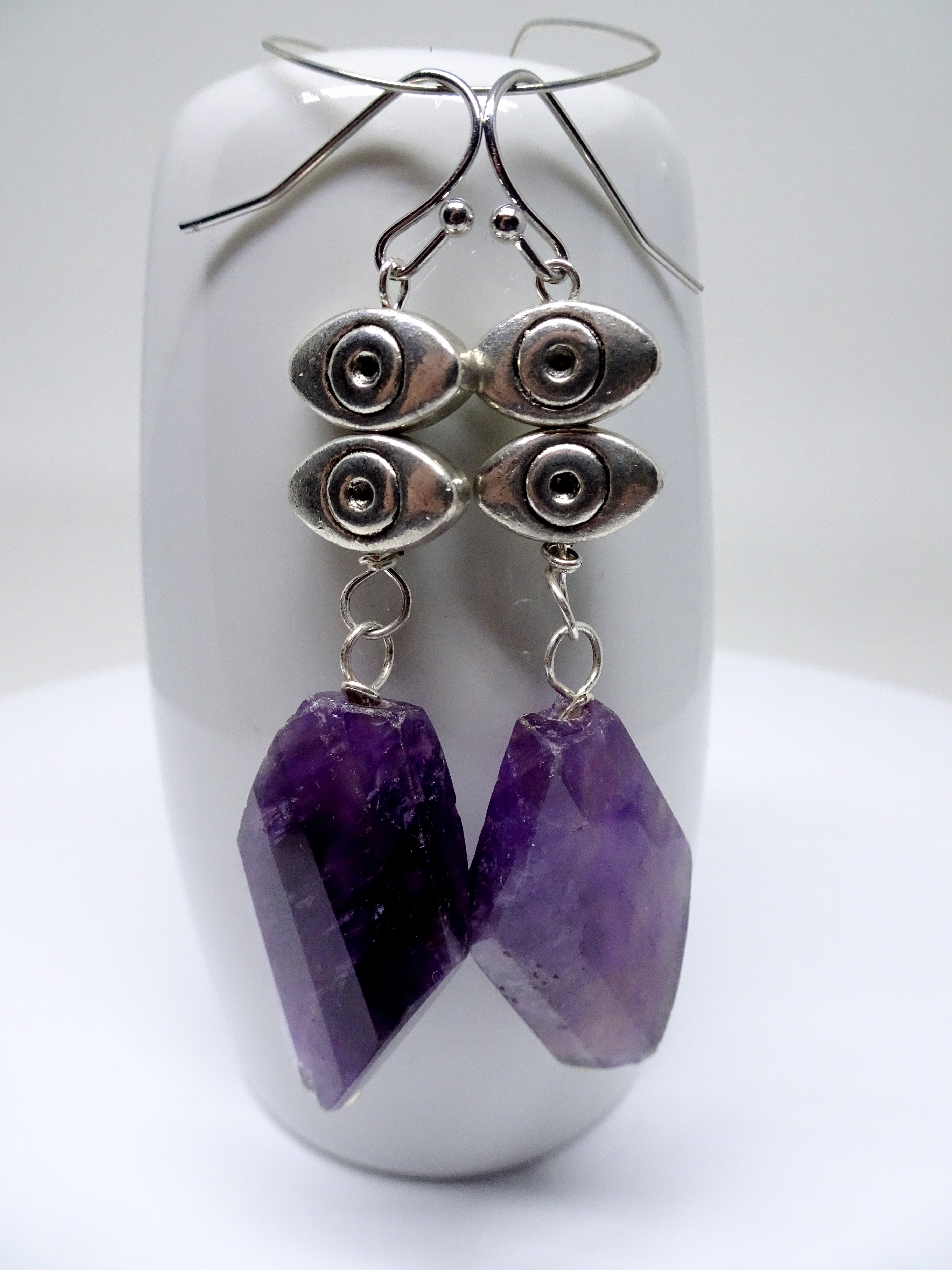 Amethyst and Pewter