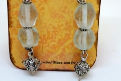 Recycled Glass and Pewter