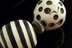 Black and White Marble Detail