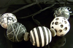 Black and White Marbles
