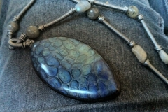 Rocky Path and Labradorite